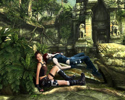Tomb Raider Underworld cosplay - it the jungles by TanyaCroft