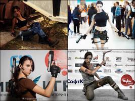 Tomb Raider Cosplay 2012 by TanyaCroft