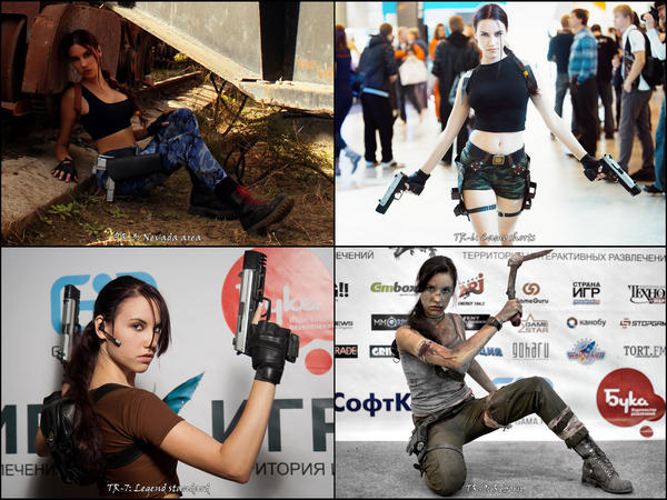 Tomb Raider Cosplay 2012 by TanyaCroft