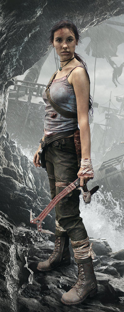 Tomb Raider Reborn poster by TanyaCroft