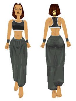 Lara Croft: gym suit