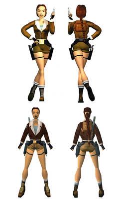 Lara Croft: bomber jacket