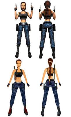 Lara Croft: Nevada area