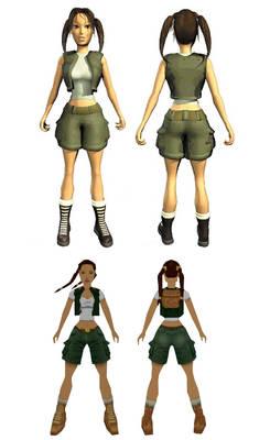 Little Lara Croft
