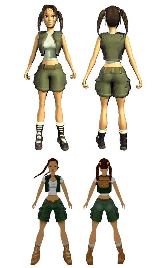 Little Lara Croft by TanyaCroft