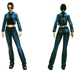 Lara Croft: jeans