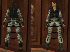 Lara Croft: special forces, urban