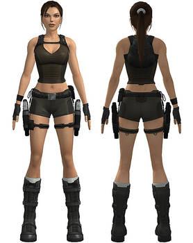 Lara Croft: underworld shorts