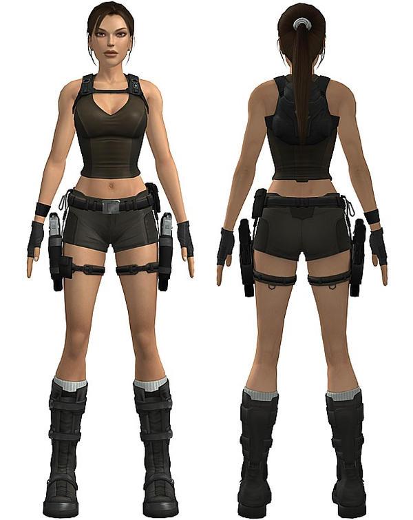 Lara Croft Kostüm