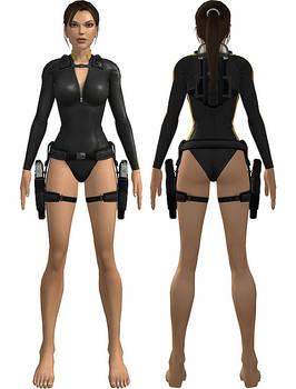 Lara Croft: wetsuit