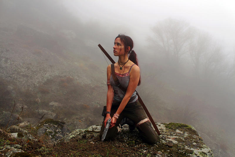 Tomb Raider Lara Croft Reborn: warrior by TanyaCroft