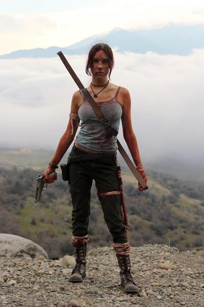 Tomb Raider Lara Croft Reborn: survivor by TanyaCroft