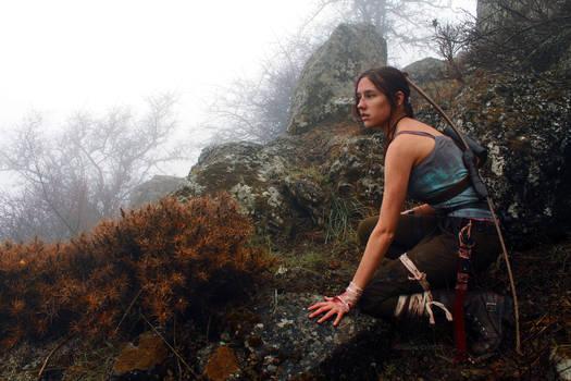Tomb Raider Lara Croft Reborn: coastal forest