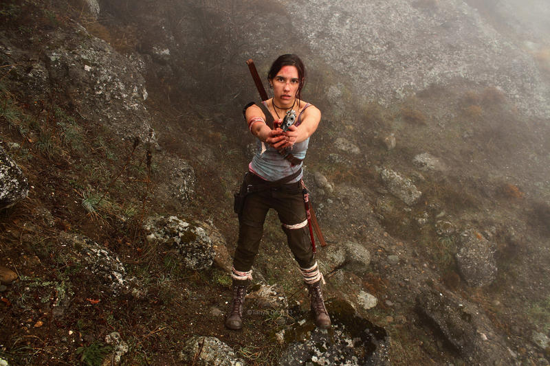 Tomb Raider Lara Croft Reborn: first blood by TanyaCroft