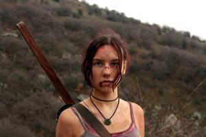 Tomb Raider Lara Croft Reborn: portrait by TanyaCroft