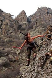 Tomb Raider Lara Croft Reborn: mountain village