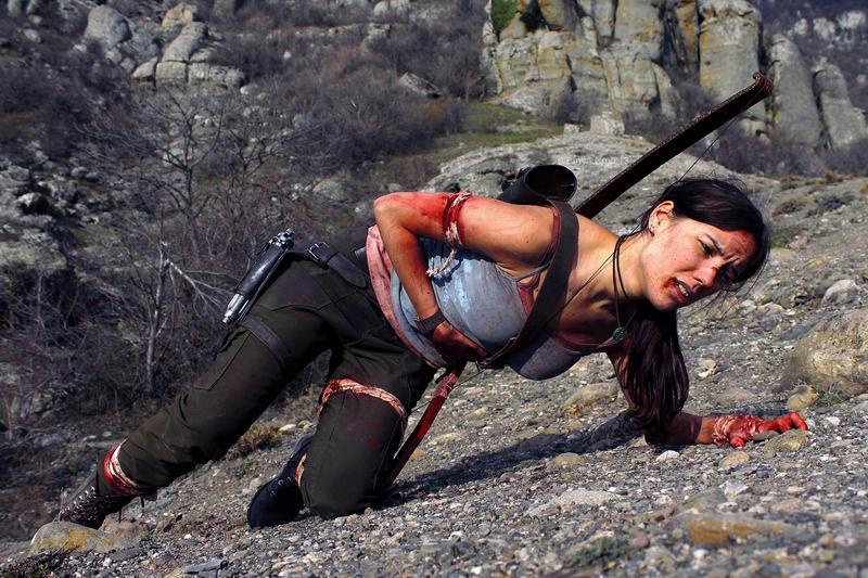Tomb Raider Lara Croft Reborn: need a medipack by TanyaCroft