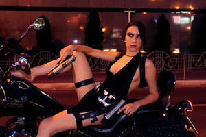 Tomb Raider Lara Croft ripped dress - relaxing by TanyaCroft