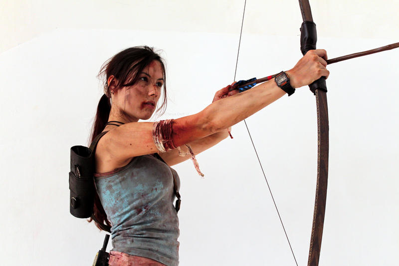 Lara Croft REBORN2 - IGAMES'13 by TanyaCroft