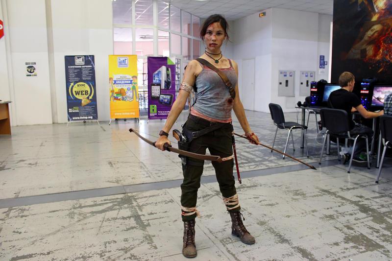 Lara Croft REBORN9 - IGAMES'13 by TanyaCroft