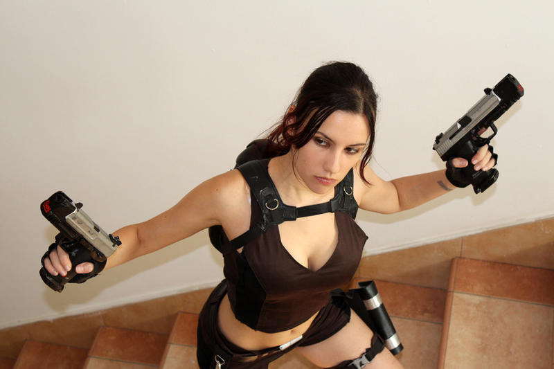Lara Croft Underworld - IGAMES'13 by TanyaCroft