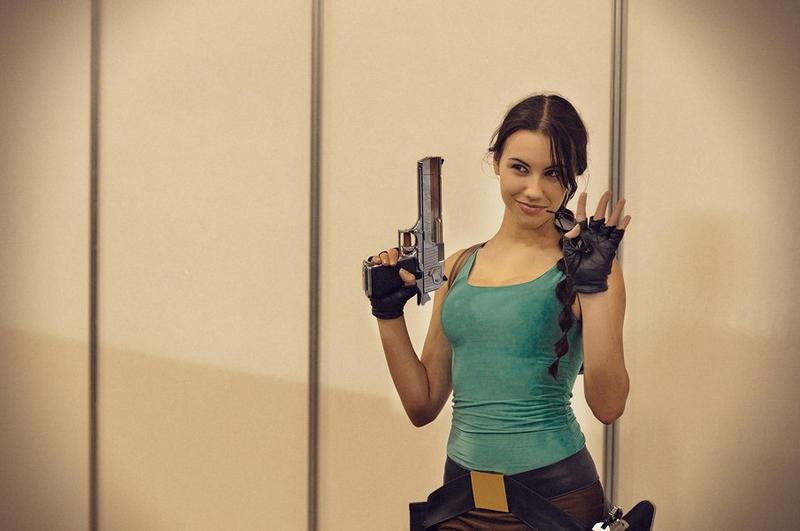 Behind the camera: classic Lara by TanyaCroft