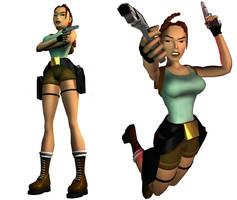 Lara Croft: original outfit (render version)