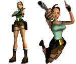 Lara Croft: original outfit (render version) by TanyaCroft