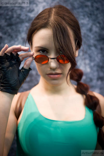Classic Lara Croft - Igromir'13 by TanyaCroft