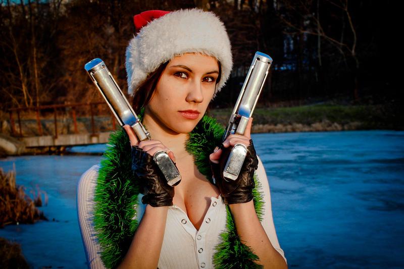 New Year's Lara Croft - friendly face by TanyaCroft
