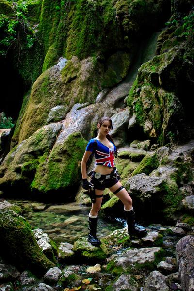 Lara Croft - moss around :) by TanyaCroft