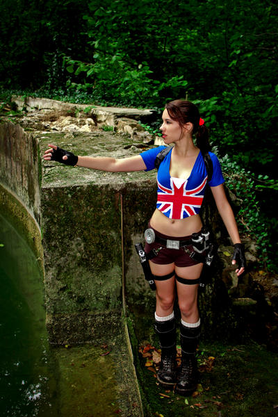 Lara Croft - I'm falling in love all over again by TanyaCroft