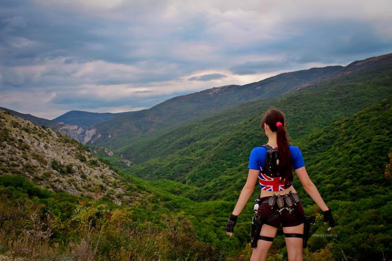 Lara Croft - beauty of nature by TanyaCroft