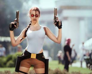 Lara Croft Tomb Raider Classic cosplay by TanyaCroft