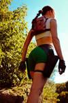 Lara Croft - usual angle