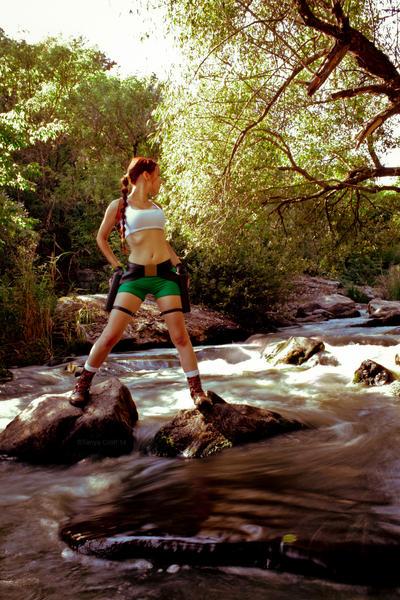 Lara Croft - Madubu Gorge :3 by TanyaCroft