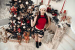 Christmas Lara Croft - Happy holidays!