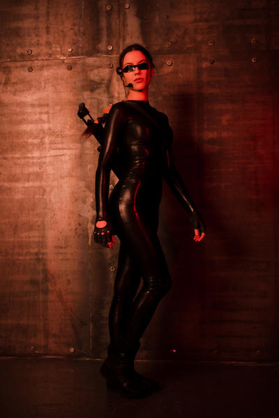 Tomb Raider Lara Croft catsuit - show off :D by TanyaCroft