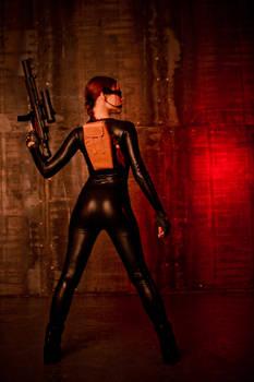 Tomb Raider Lara Croft catsuit - back
