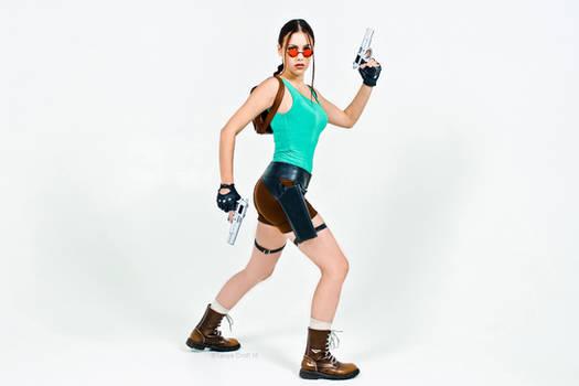 Lara Croft CLASSIC render 5