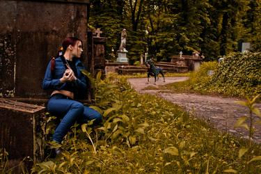 Lara Croft jeans cosplay - ambush by TanyaCroft