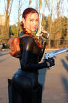 Lara Croft cosplay: catsuit improvisation 2
