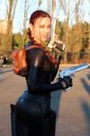 Lara Croft cosplay: catsuit improvisation 2