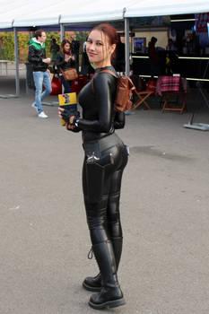 Lara Croft cosplay: catsuit improvisation 4