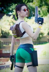 Lara Croft cosplay - Kyiv ComicCon 4