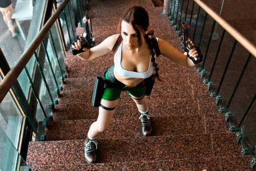 Lara Croft cosplay - Kyiv ComicCon 11