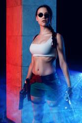 Lara Croft cosplay - Kyiv ComicCon 6