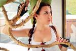 Lara Croft cosplay - Kyiv ComicCon 10