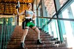 Lara Croft cosplay - Kyiv ComicCon 7