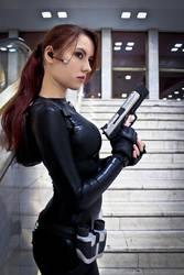 Lara Croft catsuit - Necronomicon 9 by TanyaCroft